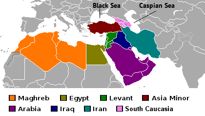 North West Asia Map.Sw Asia N Africa World Geography